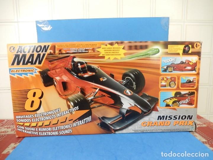 Action man: Action Man. Mission Grand Prix. Formula 1. Hasbro. Fabricado en España. 2000. - Foto 35 - 112400031