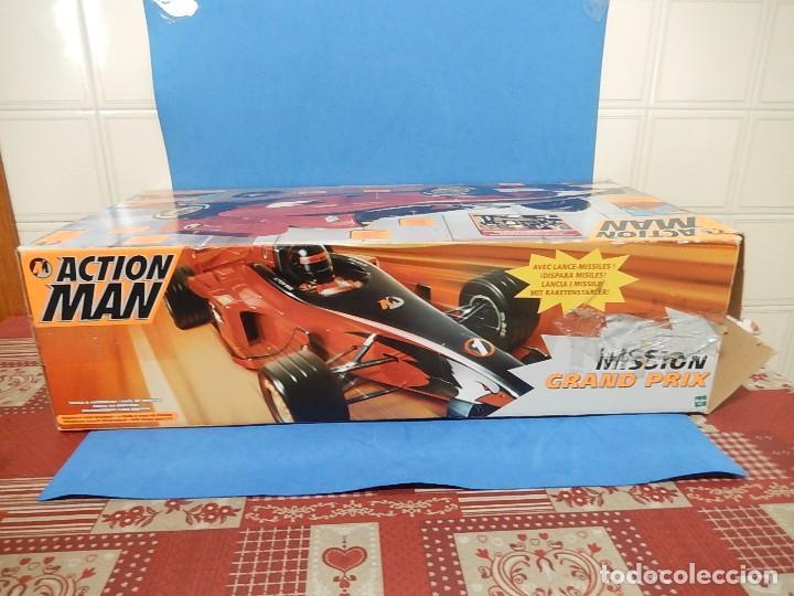 Action man: Action Man. Mission Grand Prix. Formula 1. Hasbro. Fabricado en España. 2000. - Foto 36 - 112400031