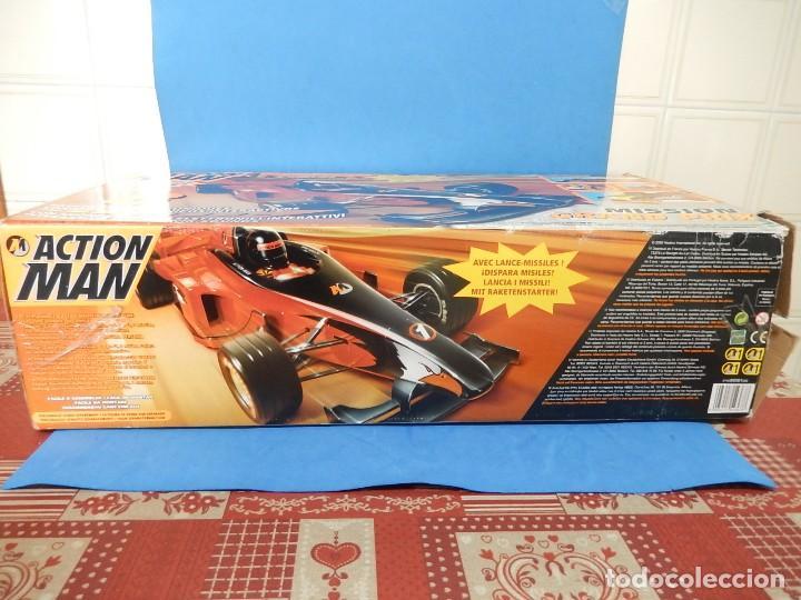 Action man: Action Man. Mission Grand Prix. Formula 1. Hasbro. Fabricado en España. 2000. - Foto 37 - 112400031
