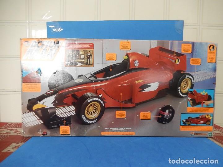 Action man: Action Man. Mission Grand Prix. Formula 1. Hasbro. Fabricado en España. 2000. - Foto 38 - 112400031
