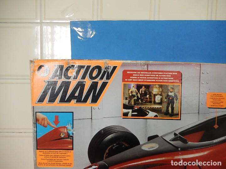 Action man: Action Man. Mission Grand Prix. Formula 1. Hasbro. Fabricado en España. 2000. - Foto 39 - 112400031