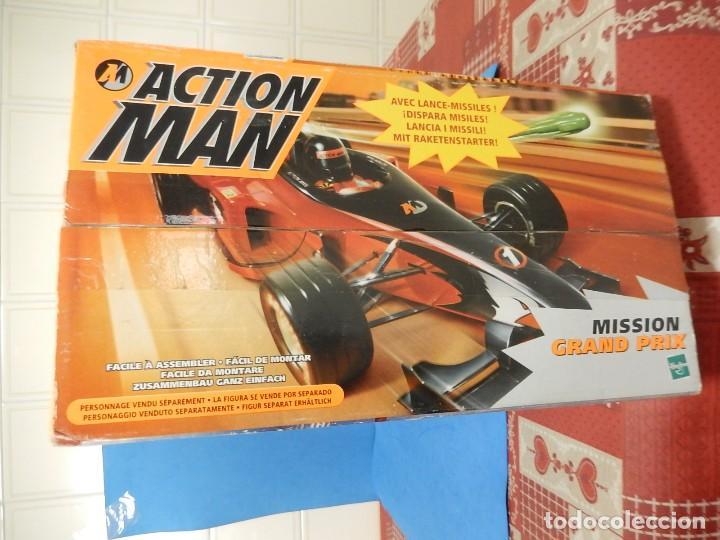 Action man: Action Man. Mission Grand Prix. Formula 1. Hasbro. Fabricado en España. 2000. - Foto 40 - 112400031