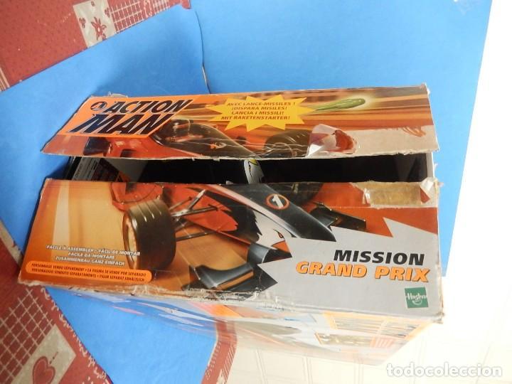 Action man: Action Man. Mission Grand Prix. Formula 1. Hasbro. Fabricado en España. 2000. - Foto 41 - 112400031