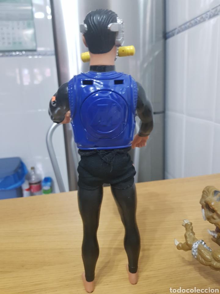 Action man: ActionMan Años 90 articulado bucea y hace burbujas - Foto 2 - 113913452