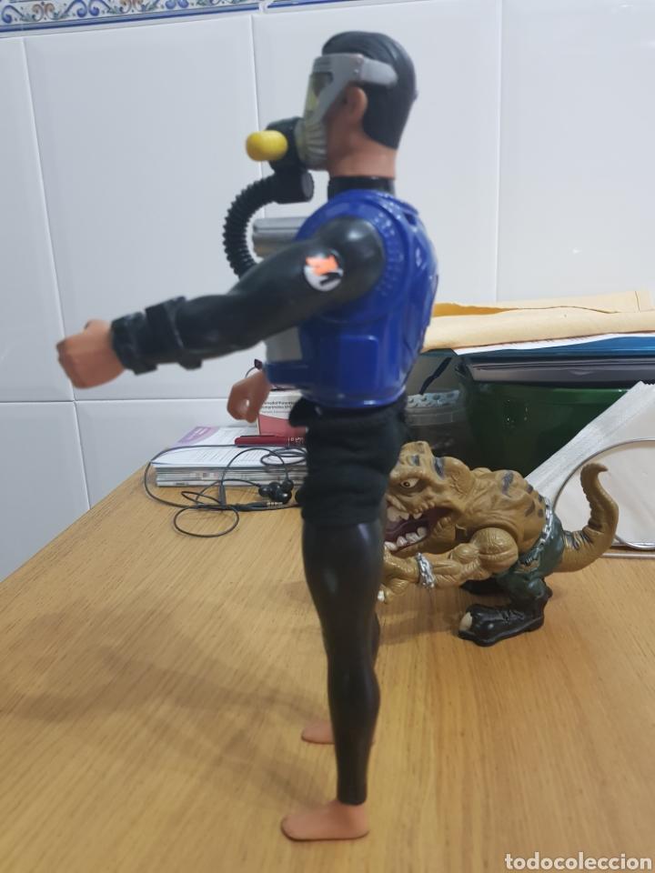 Action man: ActionMan Años 90 articulado bucea y hace burbujas - Foto 3 - 113913452