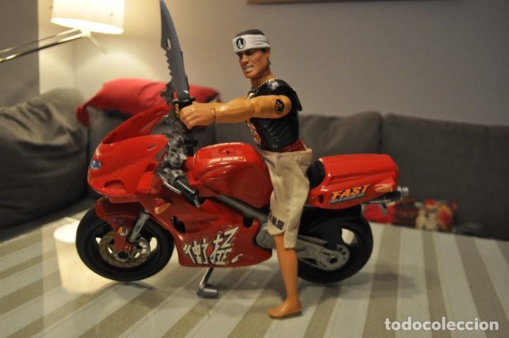 ACTION MAN MOTO MAS MUÑECO NINJA (Juguetes - Figuras de Acción - Action Man)