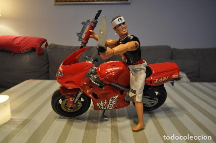 Action man: ACTION MAN MOTO MAS MUÑECO NINJA - Foto 2 - 117169675