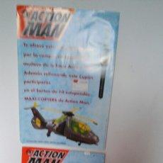 Action man: LOTE PUBLICIDAD MUÑECO ACTION MAN + 11 RELOJES.MB 1995.VER DETALLE.. Lote 118027671