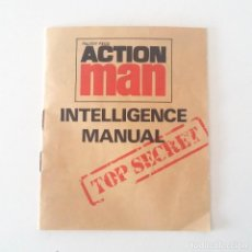 Action man: ACTION MAN INTELLIGENCE MANUAL TOP SECRET- AÑOS 70. Lote 127215079