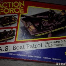 Action man: ACTION FORCE S.A.S. BOAT PATROL. ACTION MAN. Lote 133477202