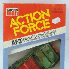 Action man: CAJA ACTION FORCE. AF3. SPECIAL PATROL VEHICLE, EN SU CAJA ORIGINAL A ESTRENAR.. Lote 133706218