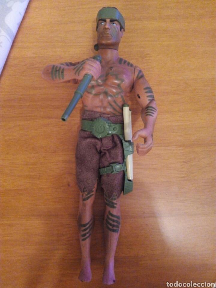 ACTION MAN CERBATANA SELVA ORIGINAL COMPLETO (Juguetes - Figuras de Acción - Action Man)