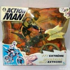 Action man: ACTION MAN MOUNTAIN BIKE EXTREME. NUEVO EN CAJA. COMPLETO. HASBRO. 1998. SIN ESTRENAR. BICICLETA.. Lote 223649751