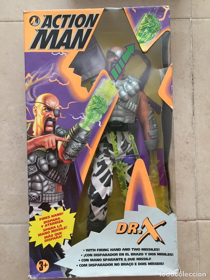 FIGURA ACTION MAN DR. X - DOCTOR X - HASBRO 1996 (Juguetes - Figuras de Acción - Action Man)