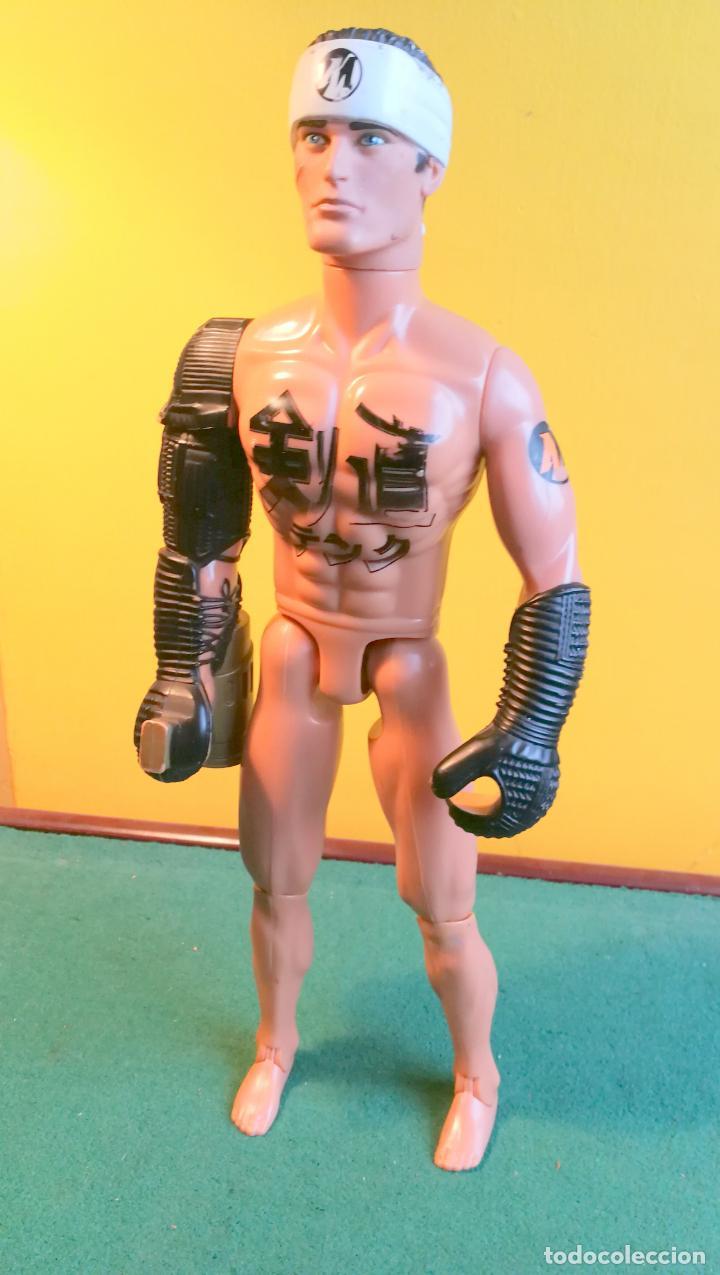 ACTION MAN HASBRO - AM 2000 - KARATEKA - NO MADELMAN (Juguetes - Figuras de Acción - Action Man)