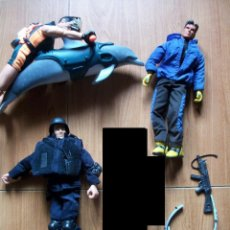 Action man: LOTE 3 MUÑECOS ACTION MAN. Lote 74564119