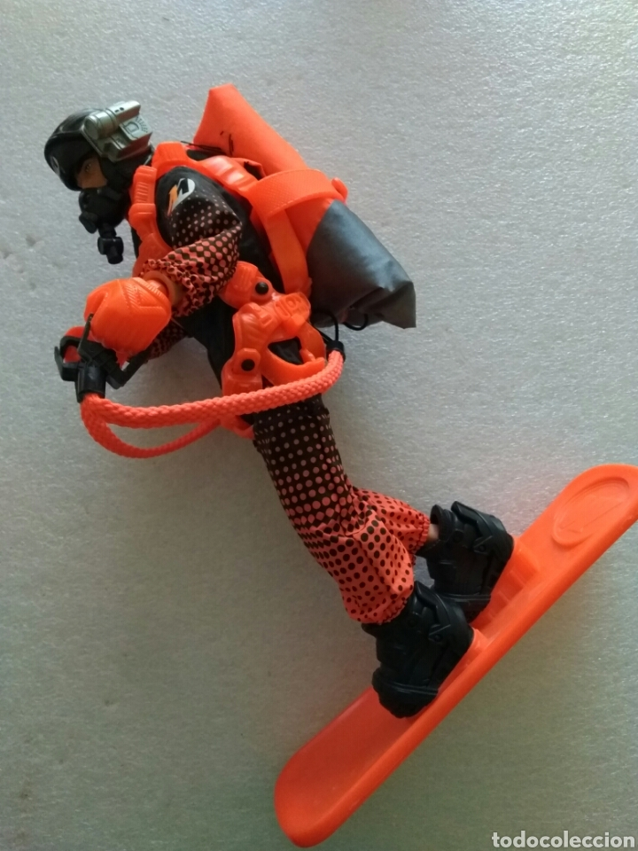 ACTION MAN AIR SURFER (PARACAIDISTA). NUEVO PERO SIN CAJA (Juguetes - Figuras de Acción - Action Man)