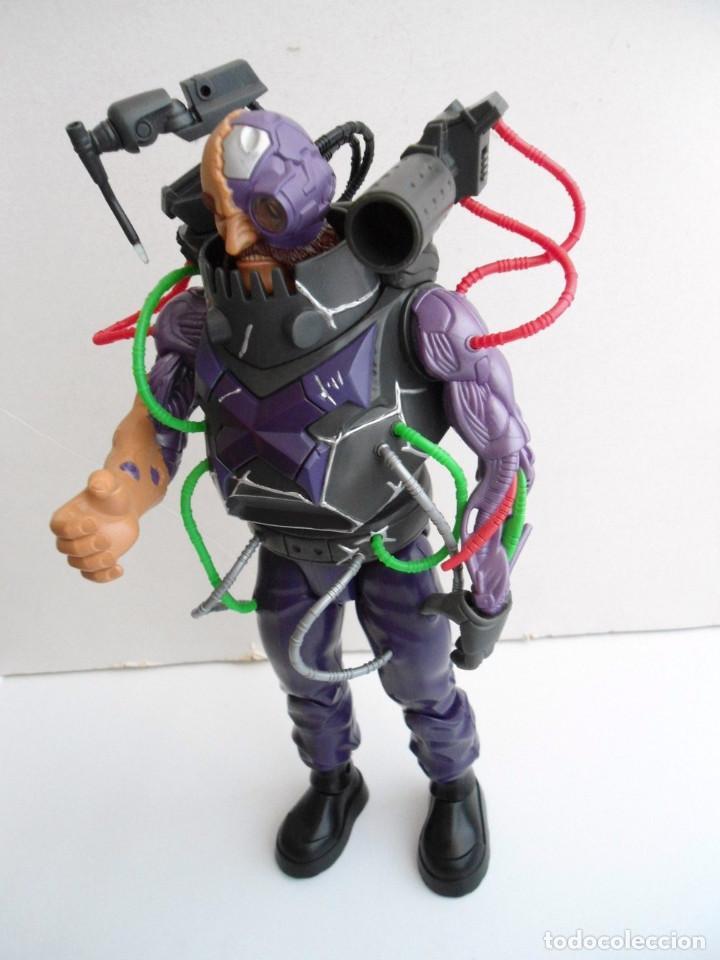 ACTION MAN - DOCTOR X ELECTRONIC HEAD - CABEZA ELECTRONICA - HASBRO 2004 - MUY RARO (Juguetes - Figuras de Acción - Action Man)