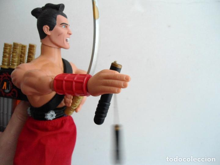Action man: ACTION MAN - SAMURAI MISSION - HASBRO 2002 - Foto 7 - 143196270