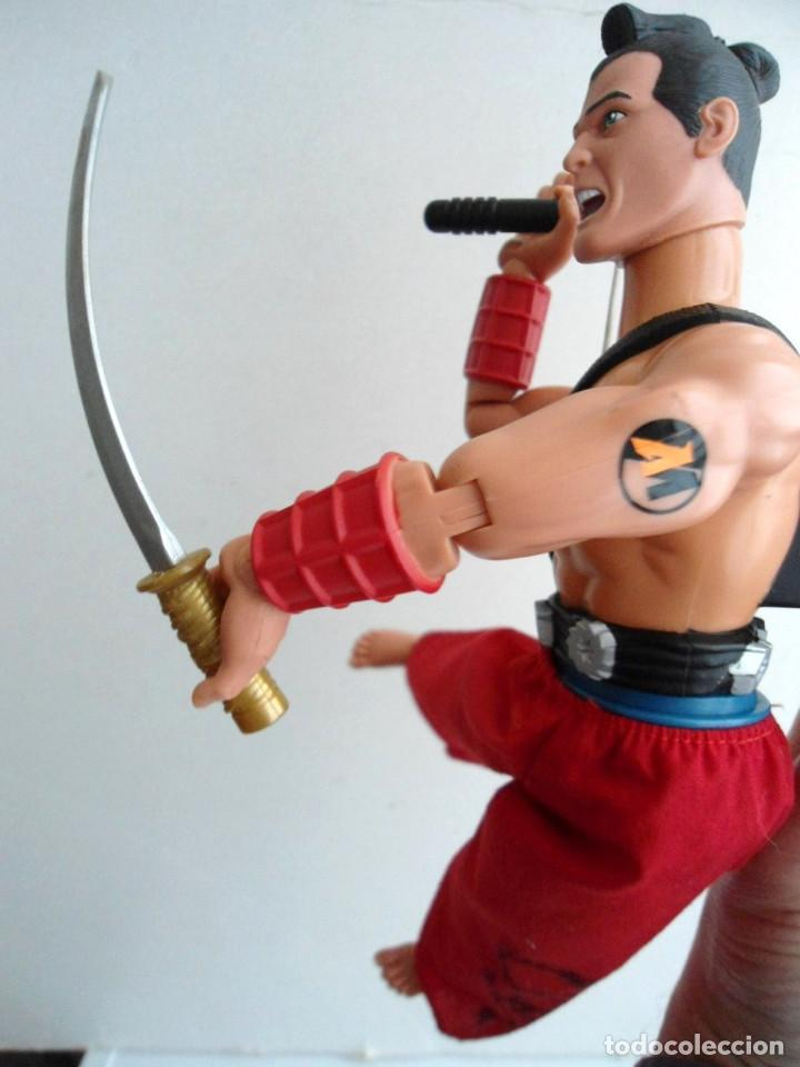 Action man: ACTION MAN - SAMURAI MISSION - HASBRO 2002 - Foto 8 - 143196270