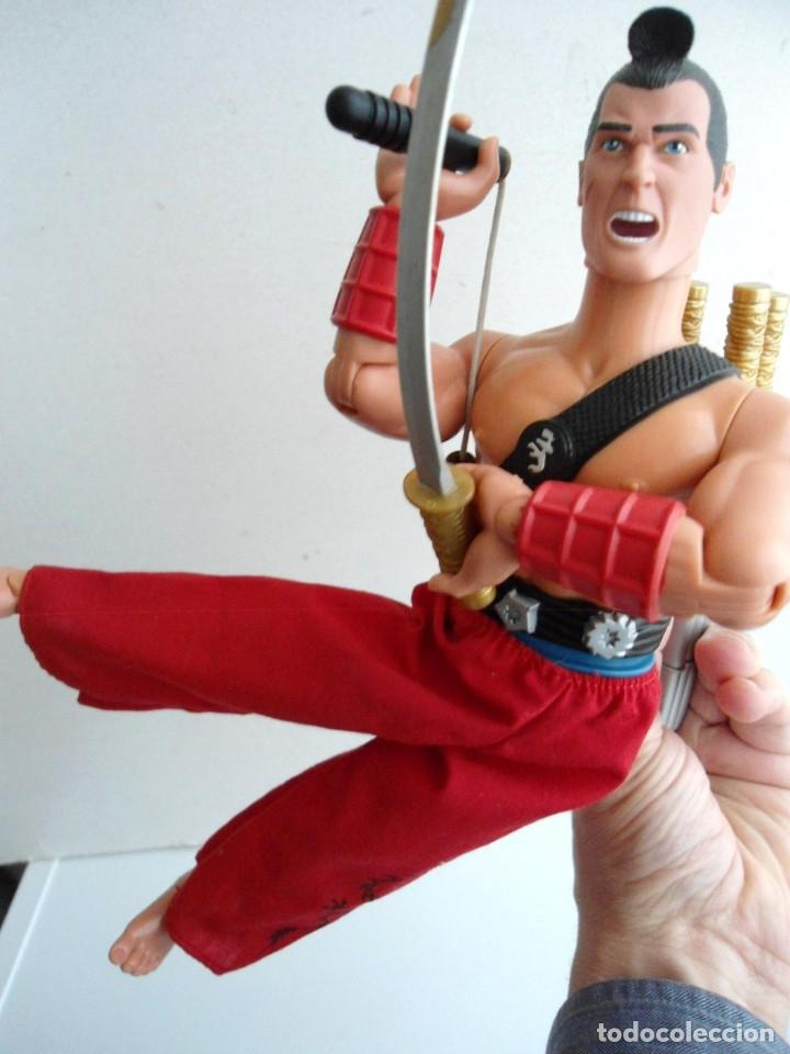 Action man: ACTION MAN - SAMURAI MISSION - HASBRO 2002 - Foto 9 - 143196270