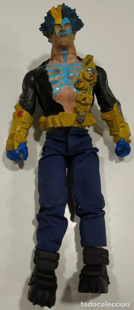 FIGURA DE ACCION ACTION MAN VILLANO HASBRO 2001 (Juguetes - Figuras de Acción - Action Man)
