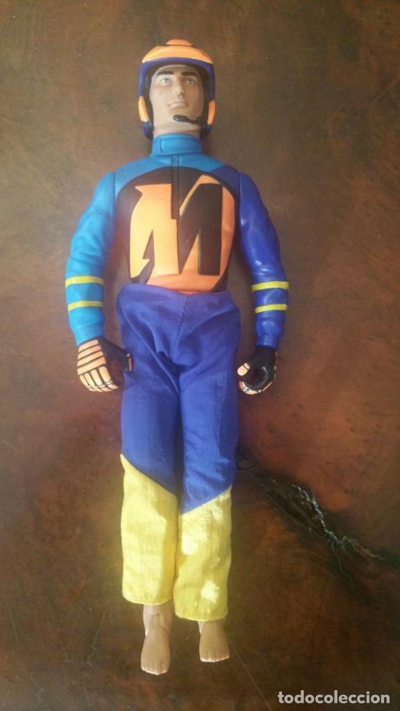 ACTION MAN HASBRO 2000 C-023E MOTORISTA (Juguetes - Figuras de Acción - Action Man)