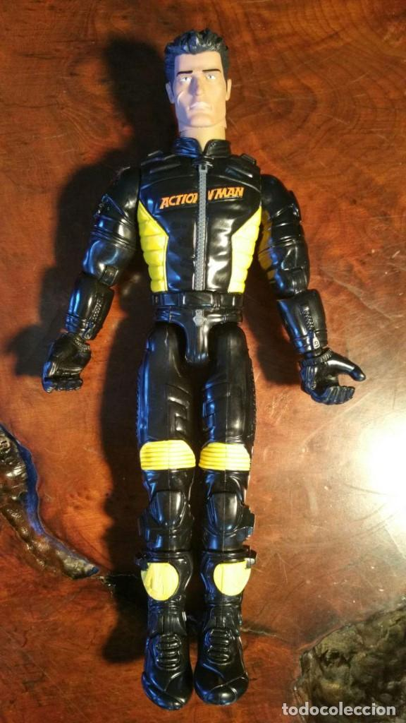 HASBRO 2004 ACTION MAN MOTORISTA (Juguetes - Figuras de Acción - Action Man)