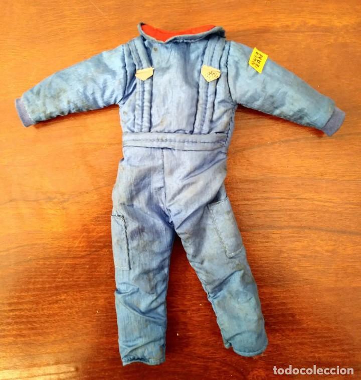 Action man: Lote de 3 Action Man + traje buzo submarinista + traje mecánico o astronauta + zapatos 1992-1996 - Foto 2 - 178679591