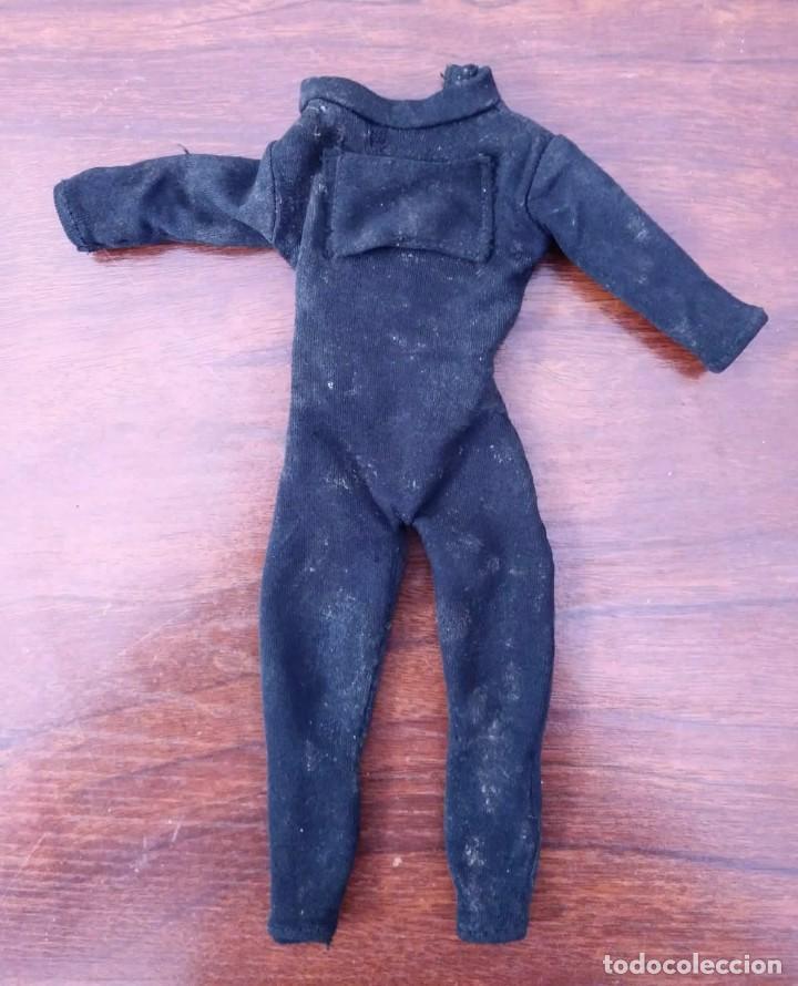 Action man: Lote de 3 Action Man + traje buzo submarinista + traje mecánico o astronauta + zapatos 1992-1996 - Foto 4 - 178679591