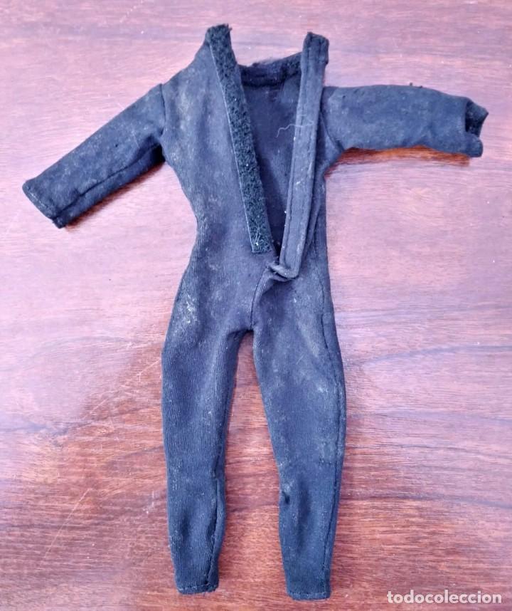 Action man: Lote de 3 Action Man + traje buzo submarinista + traje mecánico o astronauta + zapatos 1992-1996 - Foto 5 - 178679591