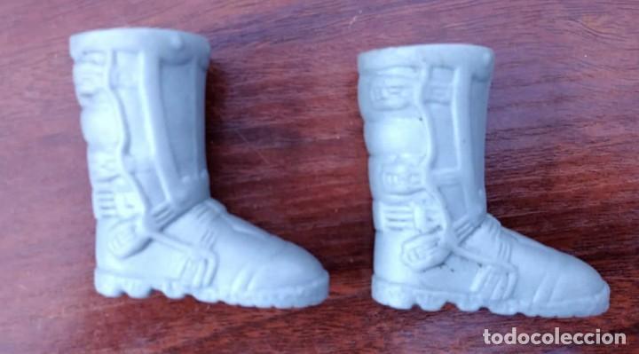 Action man: Lote de 3 Action Man + traje buzo submarinista + traje mecánico o astronauta + zapatos 1992-1996 - Foto 6 - 178679591