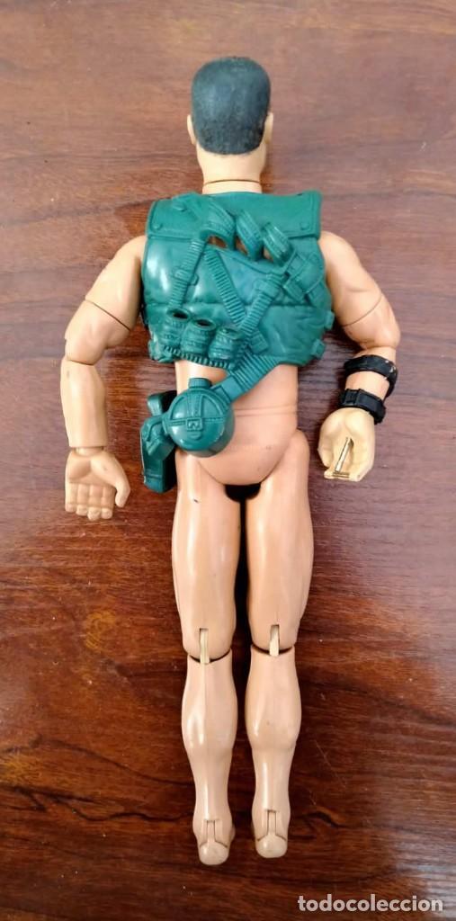 Action man: Lote de 3 Action Man + traje buzo submarinista + traje mecánico o astronauta + zapatos 1992-1996 - Foto 7 - 178679591