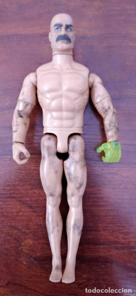 Action man: Lote de 3 Action Man + traje buzo submarinista + traje mecánico o astronauta + zapatos 1992-1996 - Foto 10 - 178679591