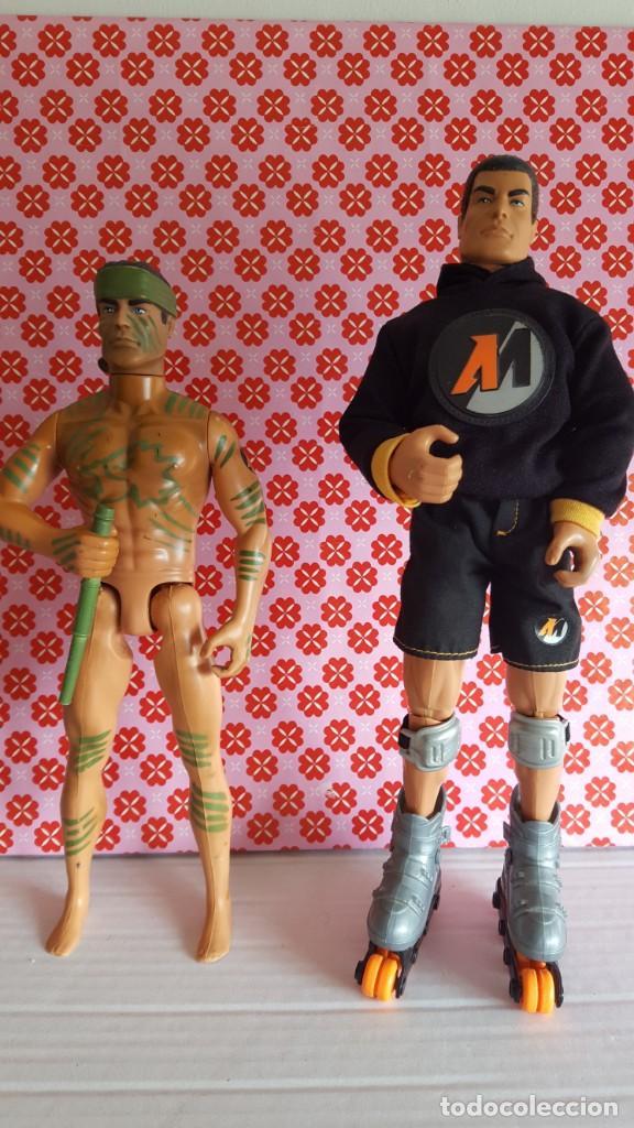 MUÑECOS ACTIÓN MAN (Juguetes - Figuras de Acción - Action Man)