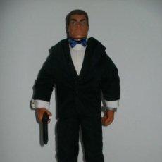 Action man: ACTION MAN JAMES BOND 007 PELO FLOCADO DE HASBRO TAMAÑO GEYPERMAN. Lote 155495066