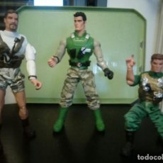 Action man: LOTE ACTION MAN: COCHE, MOTO Y 4 ACTION MAN. Lote 155867942