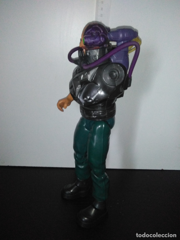 Action man: Muñeco figura ACTION MAN DOCTOR X dr ELECTRONIC HEAD CABEZA ELECTRONICA HASBRO 2004 MUY RARO - Foto 11 - 166870040