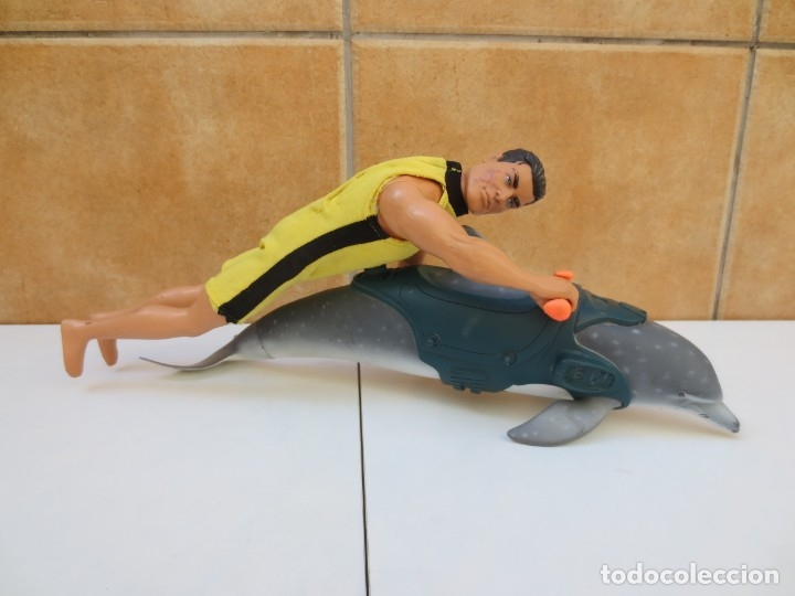 Action man: DELFIN ACTION MAN + ACTION MAN HASBRO 1999 - Foto 2 - 97905955