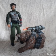 Action man: ACTION MAN MISION GRIZZLY , OSO HASBRO. Lote 170369144