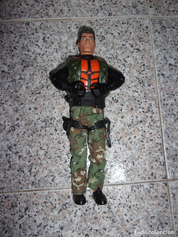 ACTION MAN SOLDADO. (Juguetes - Figuras de Acción - Action Man)