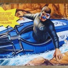 Action man: ACTION MAN CANOA CANOE 2X1 CON MOTOR ELÉCTRICO. HASBRO. NUEVO EMBALAJE ORIGINAL.. Lote 173596448
