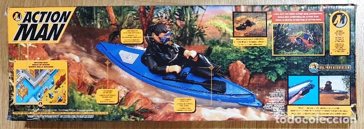 Action man: ACTION MAN CANOA CANOE 2X1 CON MOTOR ELÉCTRICO. HASBRO. NUEVO EMBALAJE ORIGINAL. - Foto 2 - 173596448