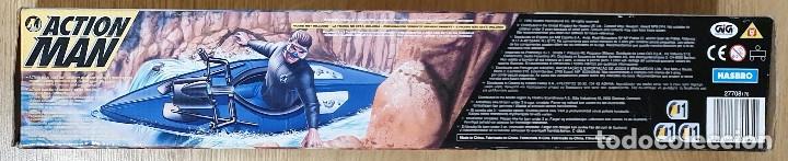 Action man: ACTION MAN CANOA CANOE 2X1 CON MOTOR ELÉCTRICO. HASBRO. NUEVO EMBALAJE ORIGINAL. - Foto 3 - 173596448