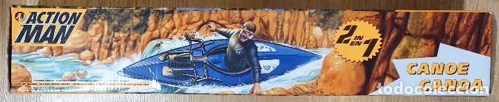 Action man: ACTION MAN CANOA CANOE 2X1 CON MOTOR ELÉCTRICO. HASBRO. NUEVO EMBALAJE ORIGINAL. - Foto 4 - 173596448