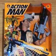 Action man: ACTION MAN MISSION CAPTURE EXPLORER NET TRAPPER. HASBRO. NUEVO EMBALAJE ORIGINAL.. Lote 183315650