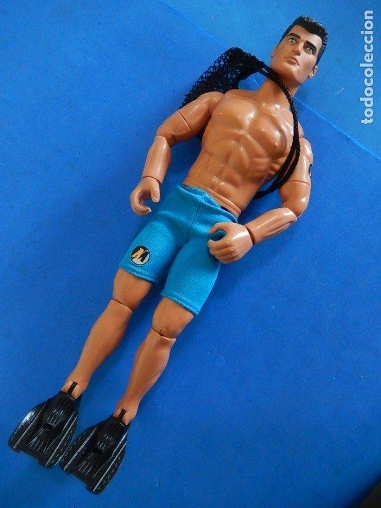 Action man: Action Man. Operación Scuba. Hasbro. 2002. - Foto 3 - 174610533
