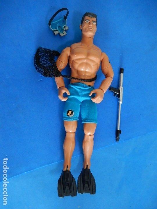 Action man: Action Man. Operación Scuba. Hasbro. 2002. - Foto 4 - 174610533