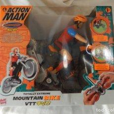 Action man: ACTION MAN. TOTALLY EXTREME. BIKE VTT R/C. BICICLETA RADIO CONTROL. HASBRO. 2001.. Lote 174621407