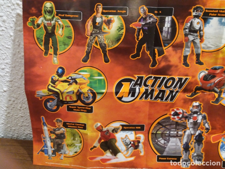 Action man: LOTE CATALOGOS-POSTERS ACTION MAN - Foto 29 - 177684097